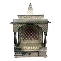 Oxidized sliver home temple / Pooja Mandir