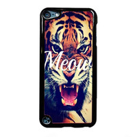 hipster meow FOR IPOD TOUCH 5 CASE *RA*