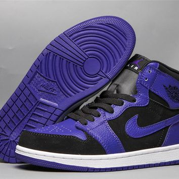 Air Jordan 1 Retro OG HG - Black/Purple