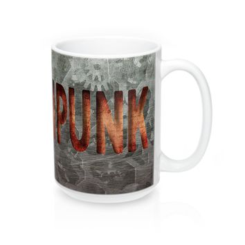 Steampunk Large Mug 15oz