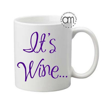 Wine Lovers Coffee Mug
