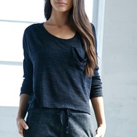 Bicoastal Long Sleeve Top