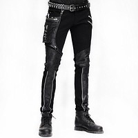 Goth Warrior Pants with Large Pocket.