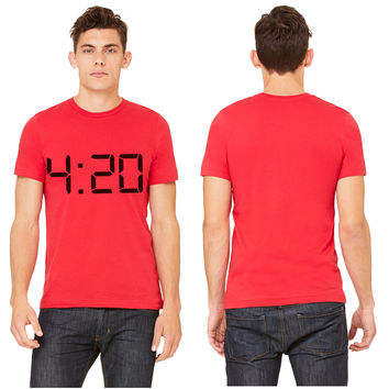 420 Four Twenty Weed THC T-shirt