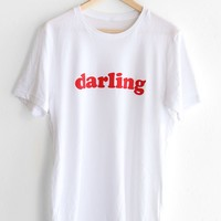 Darling Tee - White