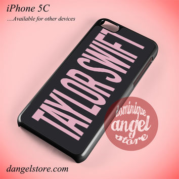 Taylor Swift Logo Phone case for iPhone 5C and another iPhone devices