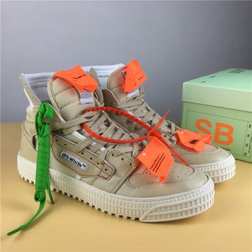 OFF-WHITE CO VIRGIL ABLOH 18SS Brown Size 36-44