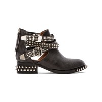 Jeffrey Campbell Everly Embellished Boot in Black