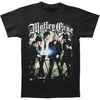 Motley Crue Men's  Group Photo T-shirt Black