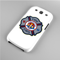 EMT EMS Fire Department Logo Samsung Galaxy S3 Case