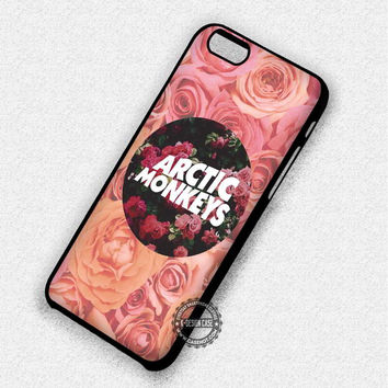 Arctic Monkeys on Flowers - iPhone 7 Plus 6S SE 4S Cases & Covers