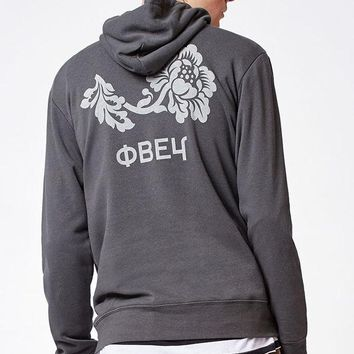 DCCKYB5 OBEY Flower Pullover Hoodie