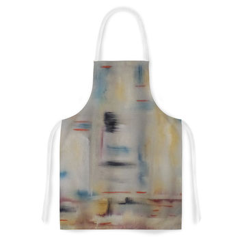 "Cathy Rodgers ""Library"" Painting Abstract Artistic Apron"