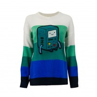 BMO Chenille Patch Knitted Sweater
