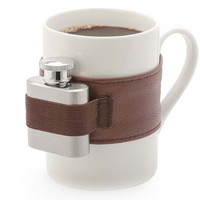 Coffee Mug Extra Shot | Stainless Steel Shot Flask