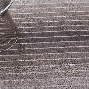 Block Stripe Indoor/Outdoor Mat | Taupe