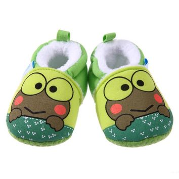Baby Moccasins Cartoon Animal Soft Baby Shoes Winter Cotton Warm First Walker Fashion