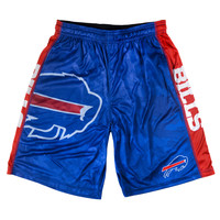 Buffalo Bills Official NFL Big Logo Camo Shorts