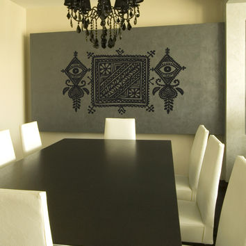 Vinyl Wall Decal Sticker Moroccan Theme Design #OS_AA118