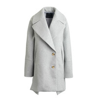 J.Crew Womens Wool Melton Swing Coat