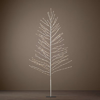 Starlit Tree 7' - Snow