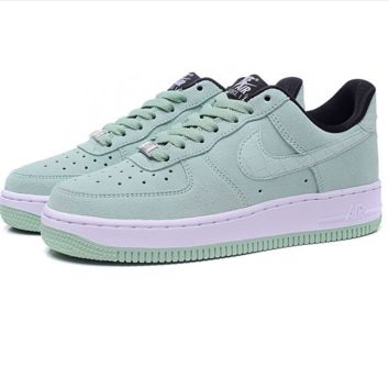 """""""Nike """"Low to help men's shoes air force  sandals leisure sports shoes Mint green"""