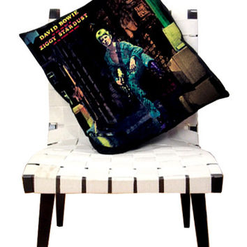 David Bowie Ziggy Stardust Album Pillow Cover