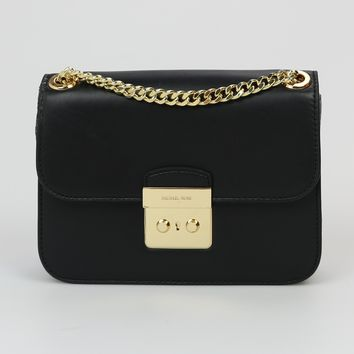 Michael Kors Sloan Editor Medium Chain Shoulder Bag