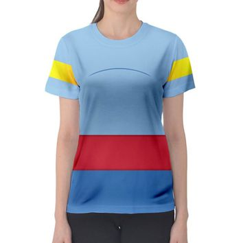 Women's Genie Aladdin Inspired ATHLETIC Shirt