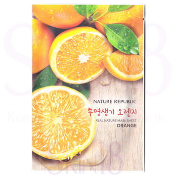 Nature Republic Real Nature Orange Mask Sheet