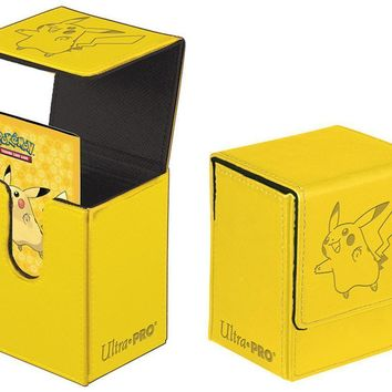 Ultra Pro Pokemon Pikachu Flip Box