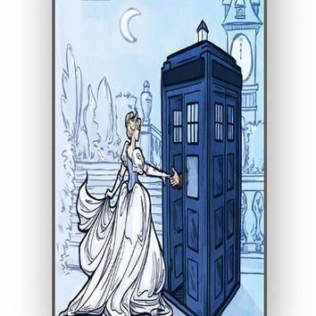 Cinderella Tardis for iPhone 4/4S Case **