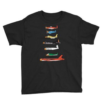 angry planes Youth Tee