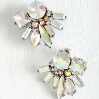 Vintage Inspired Ready, Set, Radiate Earrings by ModCloth