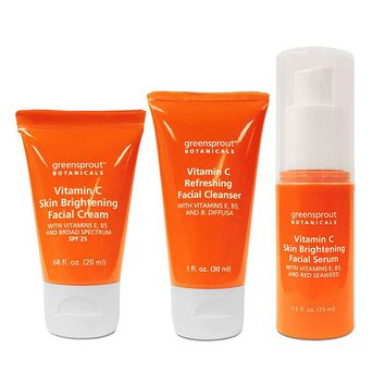 GreenSprout Botanicals 3-pc. Vitamin C Facial Gift Set (Cream)