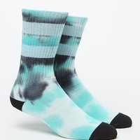 """New"" Socks Mint Gym Dye Sock - Mens Socks - Black/Mint - One"
