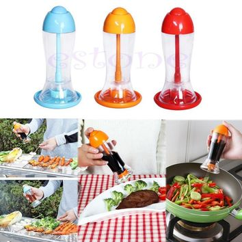 Kitchen Tool Leakproof Spray Oil Soy Bottle Sauce Vinegar Dispenser Cooking BBQ New XQ Drop shipping