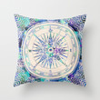 Follow Your Own Path Throw Pillow by Bianca Green