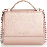 Givenchy 'Pandora Box' Metallic Leather Minaudière | Nordstrom