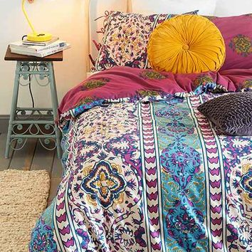 Magical thinking boho stripe duvet cover from urban outfitters Magical thinking bedding