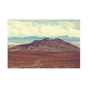 Infinite Desert Art Print
