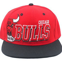 YOXO Hip Pop Bulls Snapback Cap Hat for Men Baseball Cap