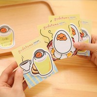 Kawaii Gudetama Memo Sticky Notepad