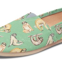Sloth Pattern Casual Shoes