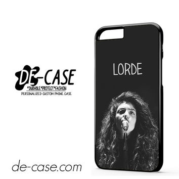 Beautiful Lorde DEAL-1656 Apple Phonecase Cover For Iphone 6 / 6S