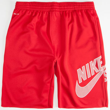 Nike Sb Sunday Mens Dri-Fit Sweat Shorts Red/White  In Sizes