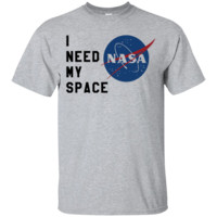 i Need My Space NASA Custom Ultra Cotton T-Shirt