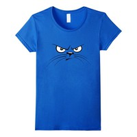 Cool Cat Face T-shirt with Cat Face