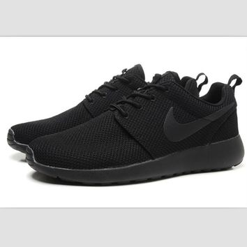 NIKE fashion network sports shoes casual shoes Black
