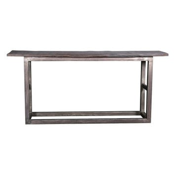 Madera Cooper Console Table - Grey
